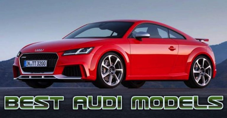 Top 10 Best Audi Cars of All-Time