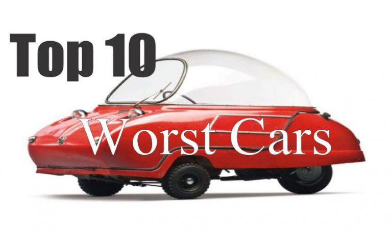 Top 10 Worst Cars Ever Made