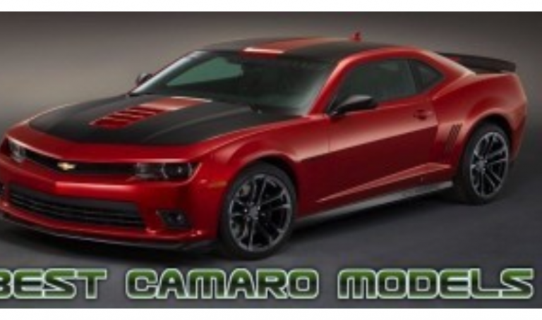 Top 10 Best Camaro Models of All-Time